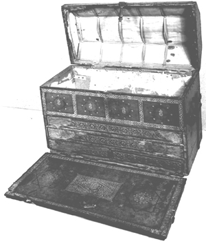 Edward VI's portable desk