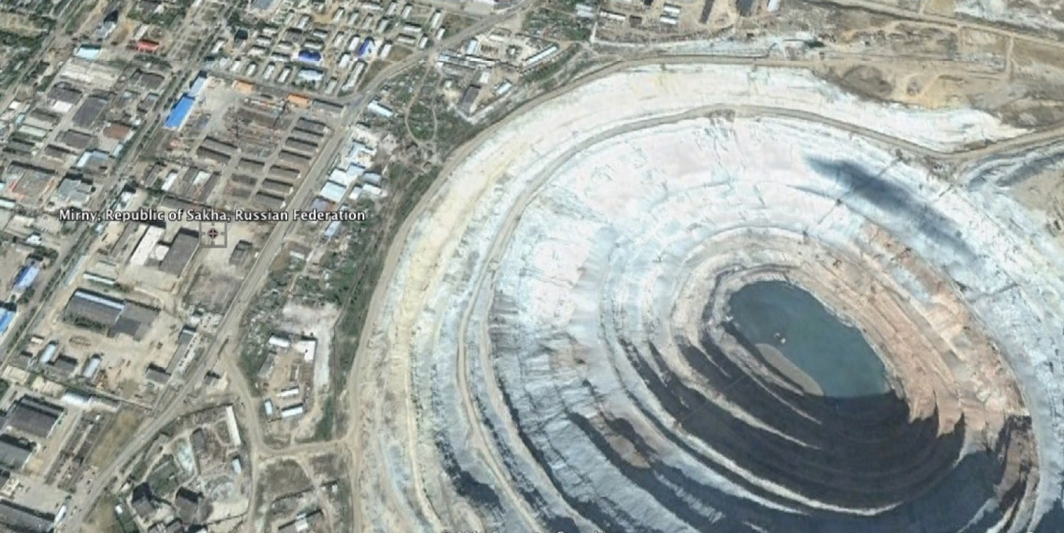 Mirny diamond mine