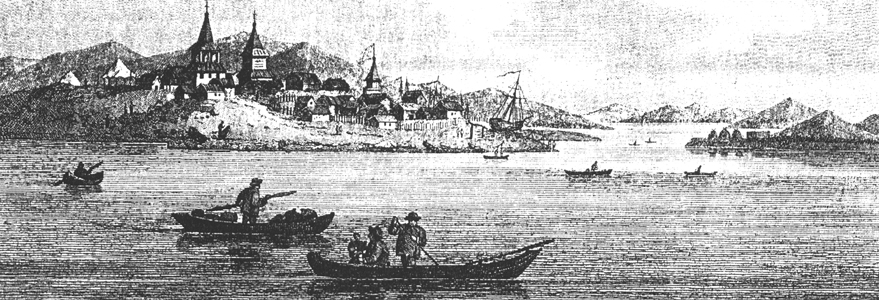 illustration from the Billings Expedition of the sea by Okhotsk