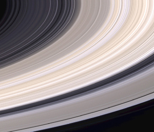 Saturn's rings from Cassini from Nasa/JPL