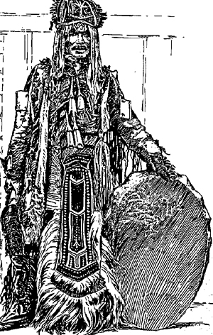 shaman from the Tunguska picture in Times Russian Supplement 1915