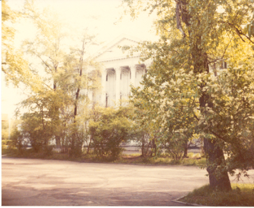 Irkutsk 1983, governers house, copyright Heather Hobden