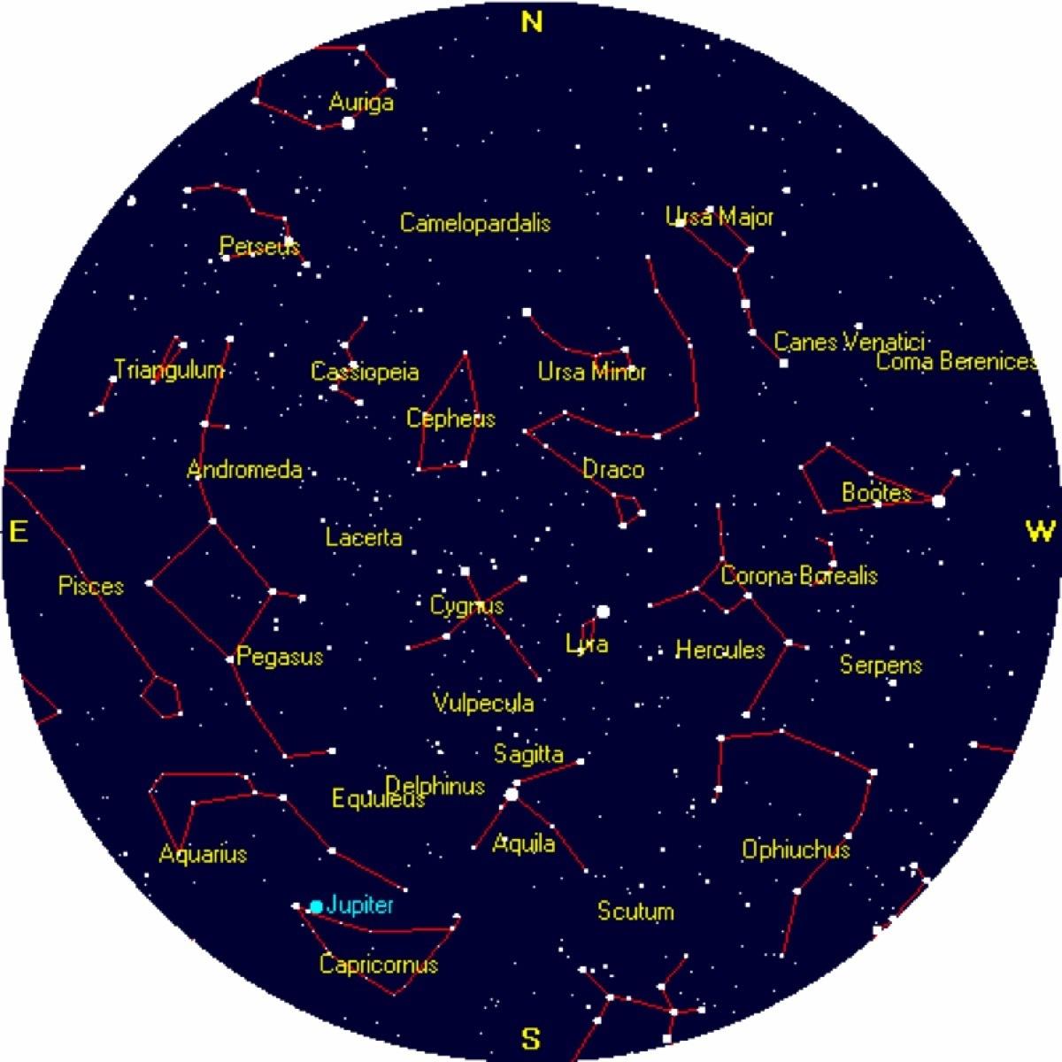1200 x 1200 jpeg 203kB, September Constellations Northern Hemisphere ...
