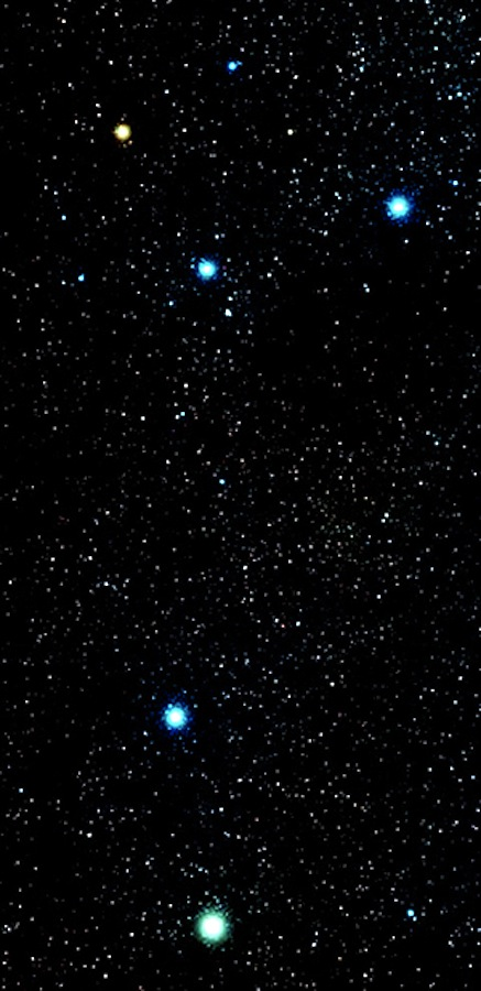 southern cross - how we saw it but not my pic as did not have tripod